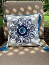 Load image into Gallery viewer, Evil eye pillows
