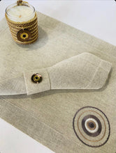 Load image into Gallery viewer, Handmade placemats with napkin and napkin ring