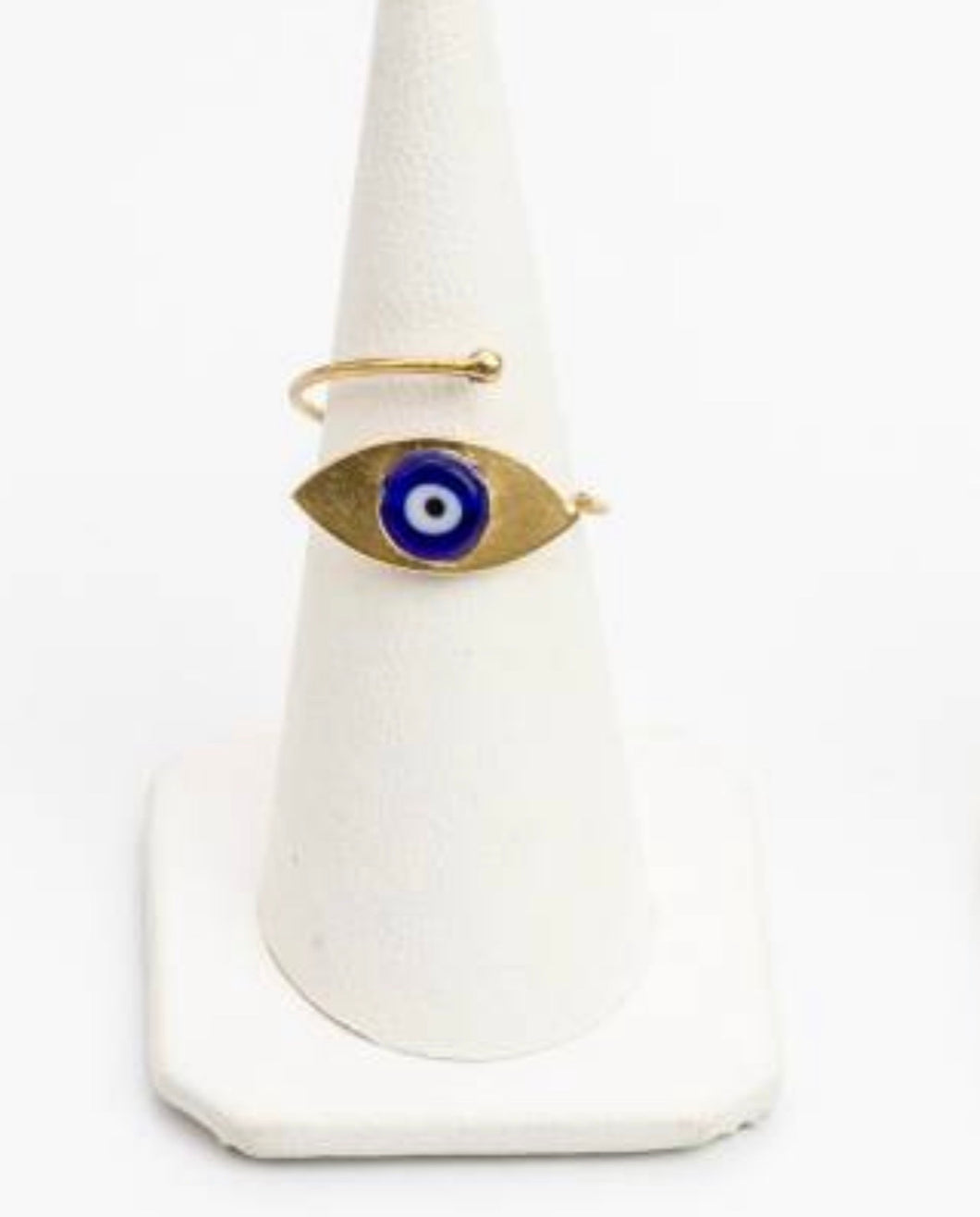 Sterling silver evil eye rings