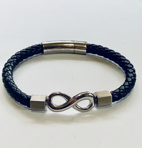 Men's eternity bracelet