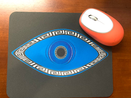 Evil eye mouse pad