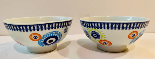 Evil eye colorful bowls