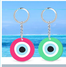 Load image into Gallery viewer, Evil eye keychains