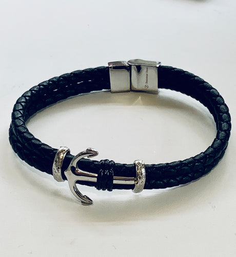 Men's anchor bracele
