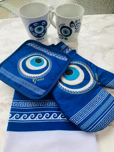 Evil eye pot holders