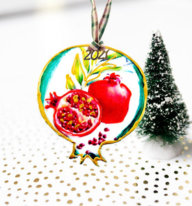 Pomegranate ornaments