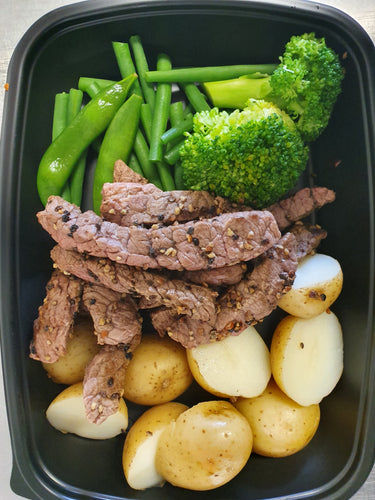 Lean Peppered Steak