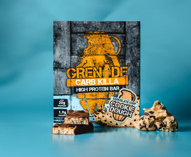 Grenade Carb Killa Bars (Chocolate Chip Cookie Dough)