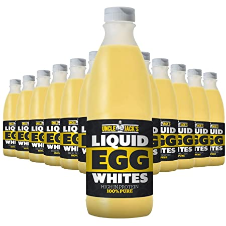 1 Litre Uncle Jacks Free Range Liquid Egg Whites