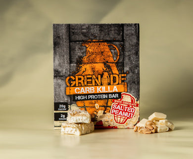 Grenade Carb Killa Bars (White Chocolate Salted Peanut)