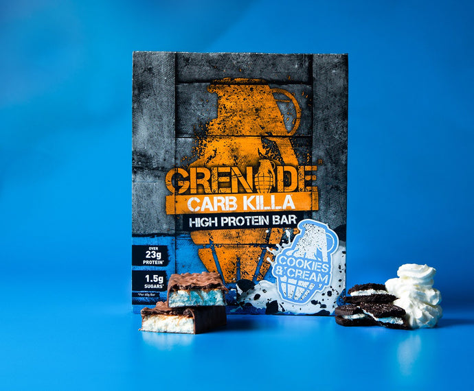 Grenade Carb Killa Bars (Cookies & Cream)