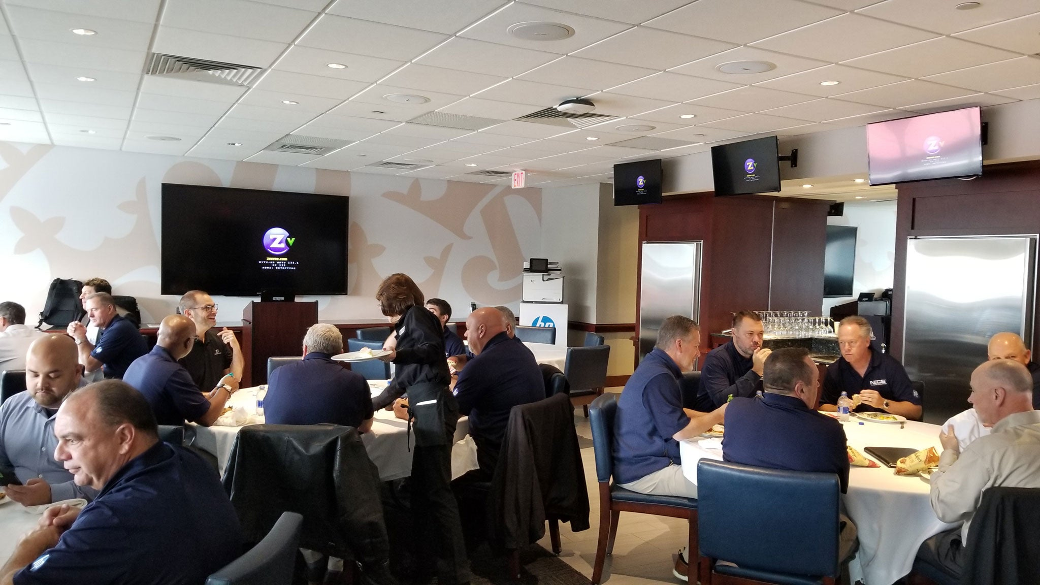 New England Copy Specialists at HP Conference at Gillette Stadium