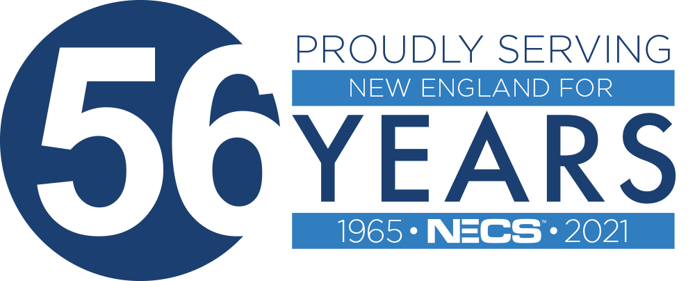 NECS 56 Year Badge