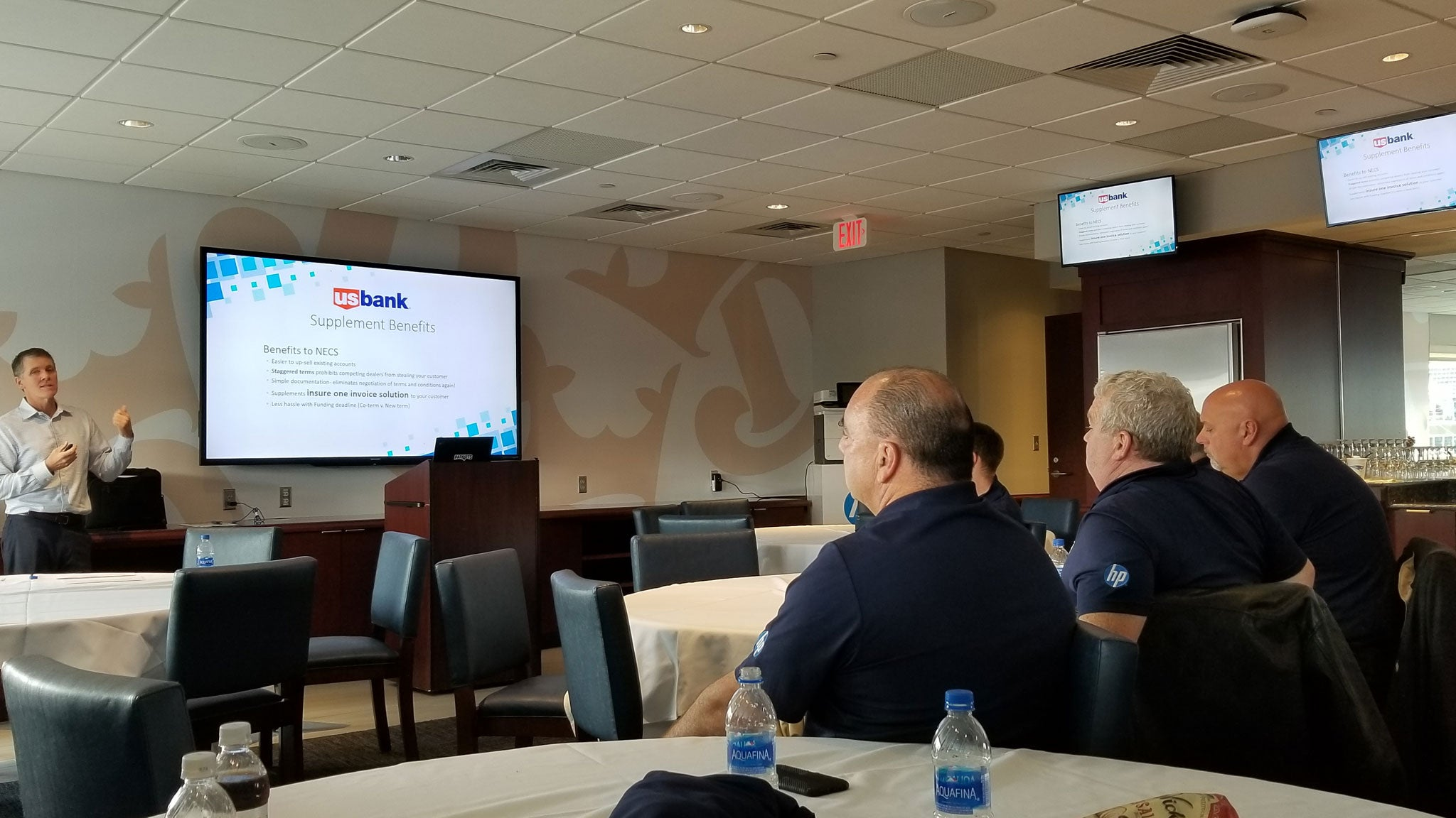 New England Copy Specialists at HP Conference held at the Gillette Stadium