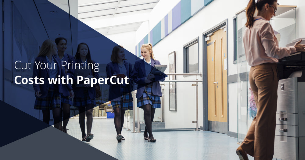 PaperCut Solutions being used in the education sector to cut printing costs