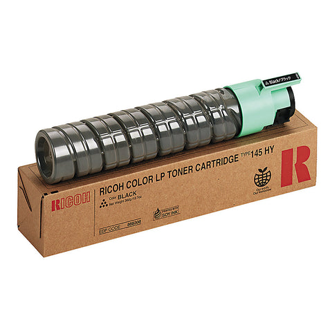 Ricoh Aficio CL4000DN SP C410DN SP C411DN SP C420DN High Yield Black Toner Cartridge (15000 Yield) (Type 145)