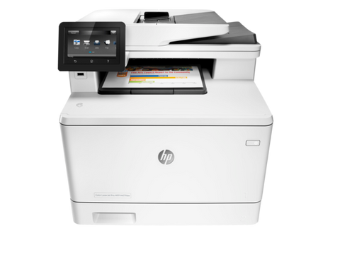 HP M477FDW Multifunction Laser Printer