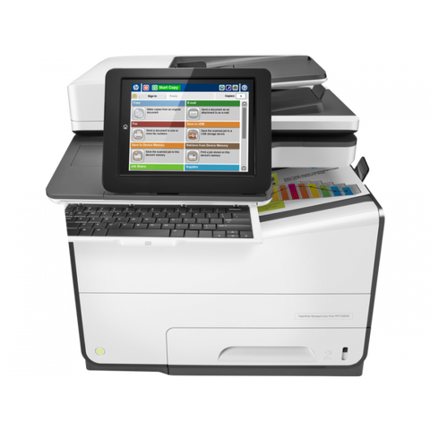 HP PageWide Enterprise Managed Color MFP E58650dn