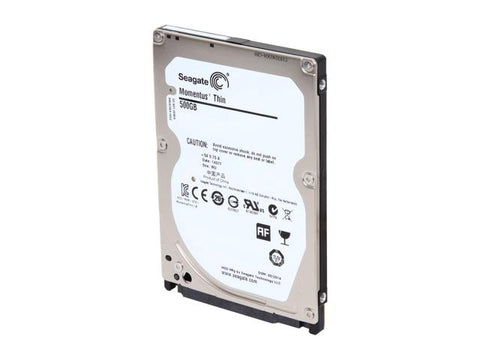 Seagate  LAPTOP THIN HDD 500GB 2.5 SATA 7200 32MB