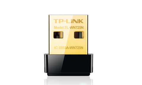 TP-LINK Technologies Co., Ltd  150MBPS W/LESS N NANO USB ADAPTER