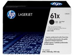 HP 61X (C8061X) LaserJet 4100 4100 MFP 4101 MFP High Yield Black Original LaserJet Toner Cartridge (10000 Yield)