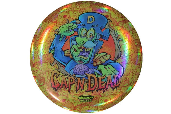 Discraft Full Foil Super Color ESP Buzzz Cap'n Dead