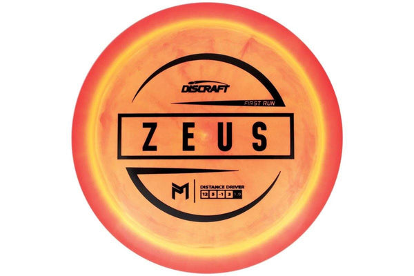 Discraft ESP McBeth Zeus First Run Signature