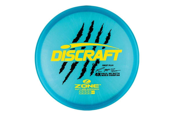 Discraft Z McBeth Zone First Run Signature - Disc Golf Mart