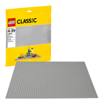 LEGO - 10701 Classic Gray Baseplate