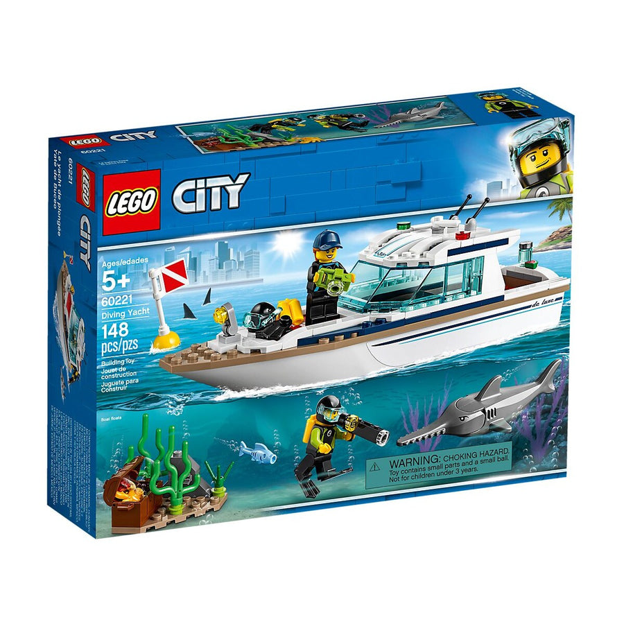 LEGO - 60221 City Diving Yacht
