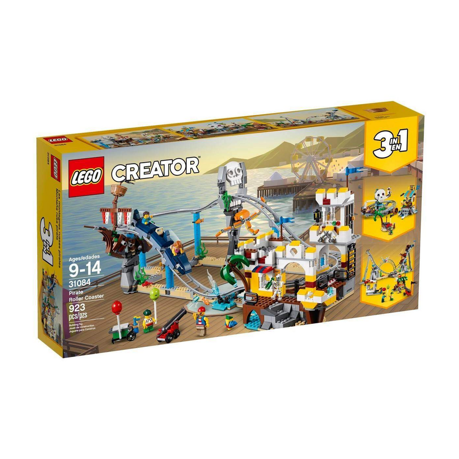 LEGO - 31084 Creator Pirate Roller Coaster