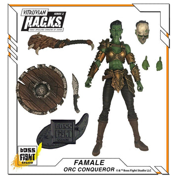VITRUVIAN H.A.C.K.S. - Series 2 - ORC CONQUEROR (Female Strategist)