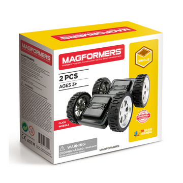 Magformers Click Wheels Set
