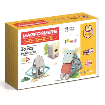 Magformers My First Animal Jumble 40 Set