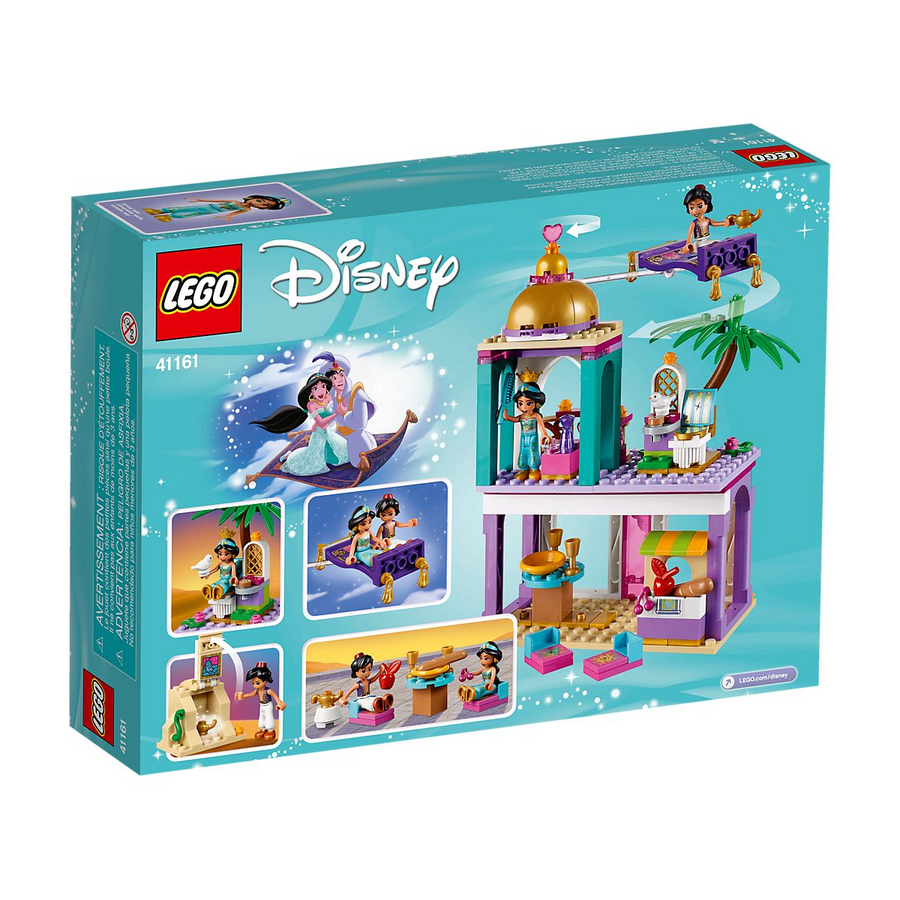 LEGO - 41161 Aladdin and Jasmine's Palace Adventures