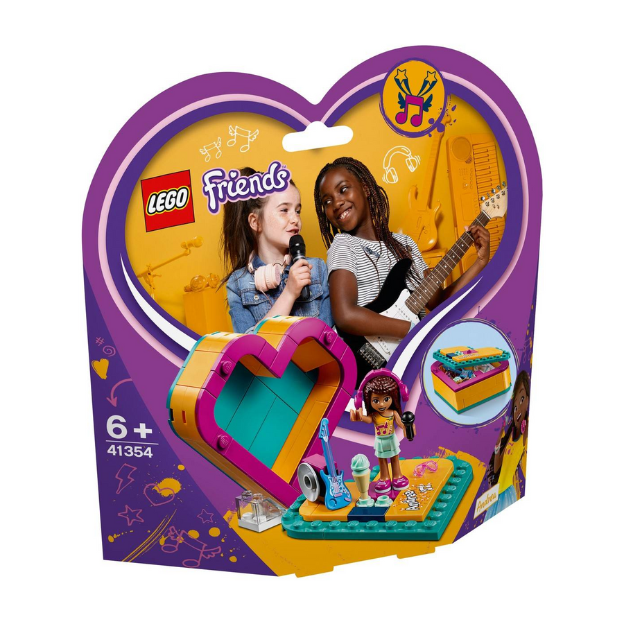 LEGO - 41354 Friends Andrea's Heart Box