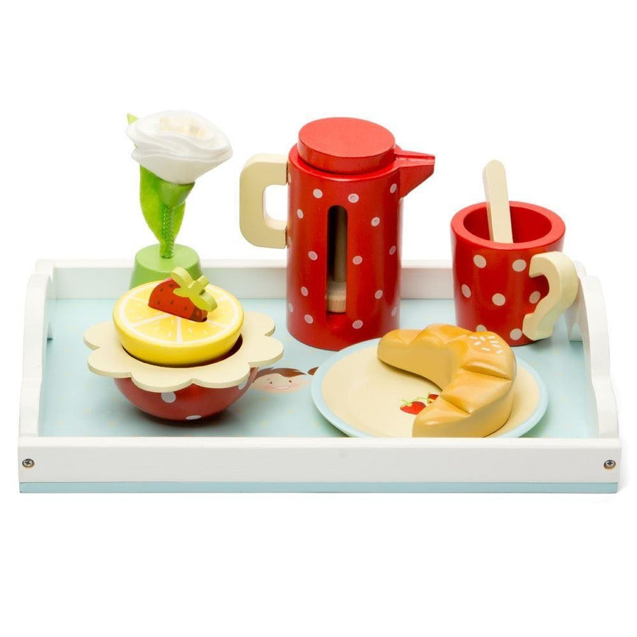 Le Toy Van Honeybake Breakfast Tray Wooden Play Set