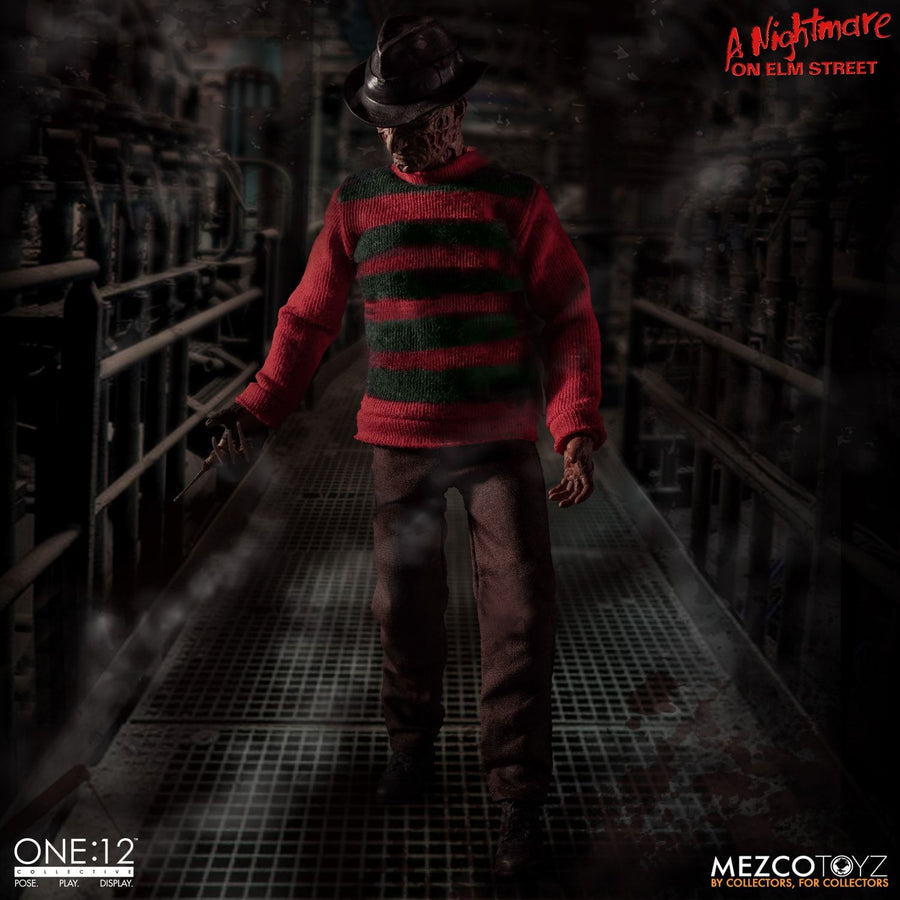 Nightmare on Elm St - 1:12 Freddy Krueger Figure