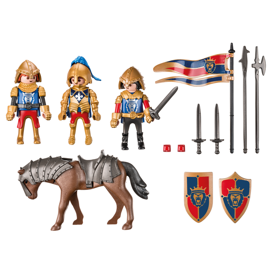 Playmobil - 6006 Royal Lion Knights Figures