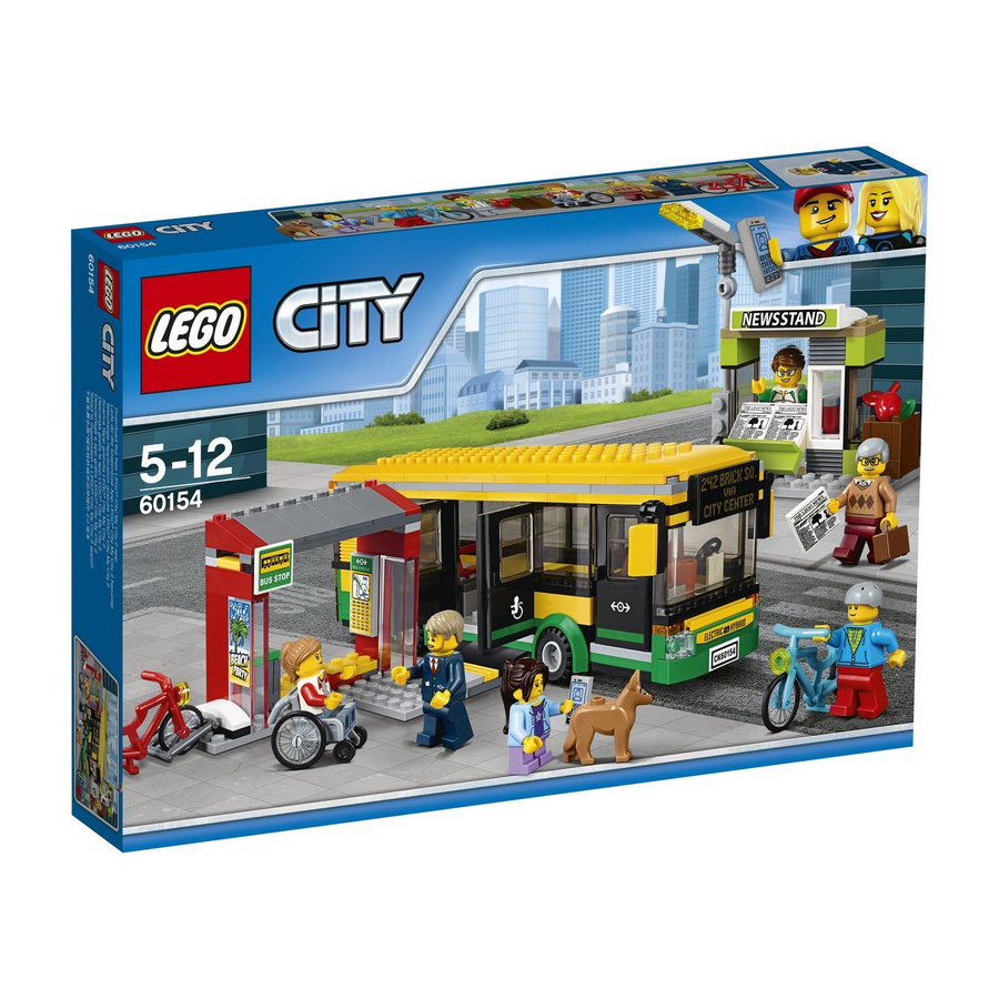 LEGO - 60154 City Bus Station