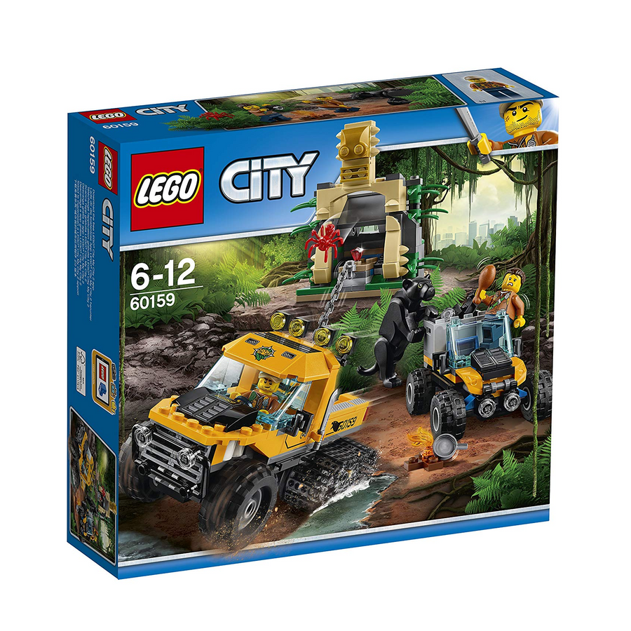LEGO - 60159 City Jungle Halftrack Mission (Retired)