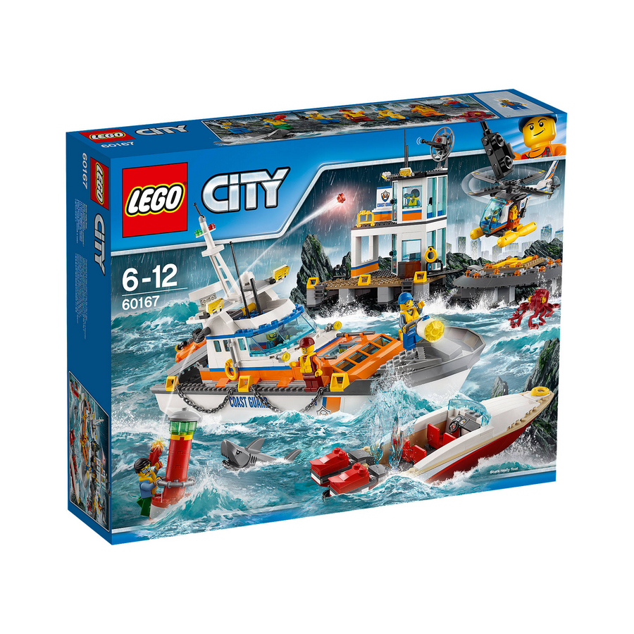 LEGO - 60167 City Coast Guard Head Quarters