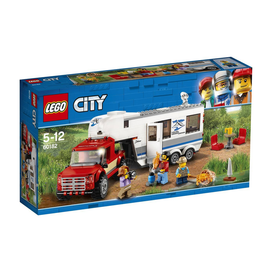 LEGO - 60182 City Pickup & Caravan