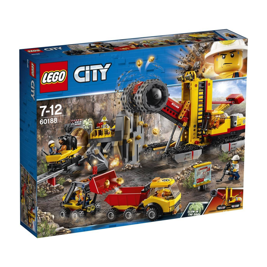 LEGO - 60188 City Mining Experts Site