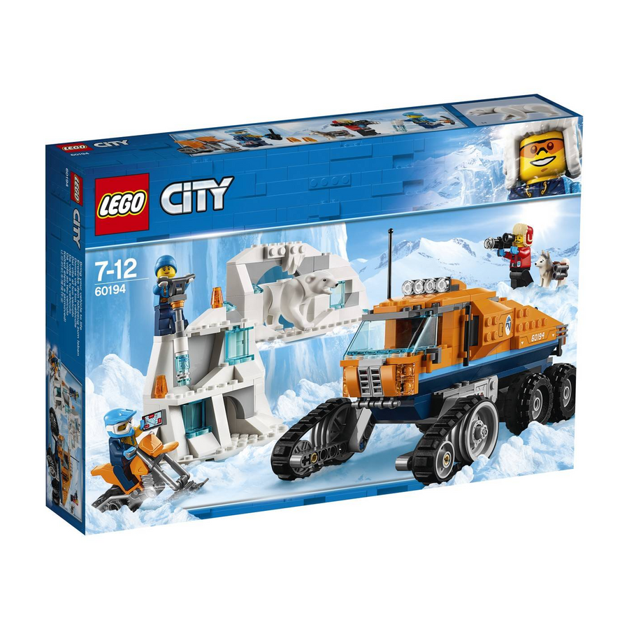 LEGO - 60194 City Arctic Scout Truck