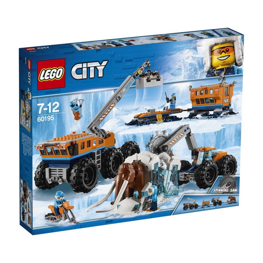 LEGO - 60195 City Arctic Mobile Exploration Base