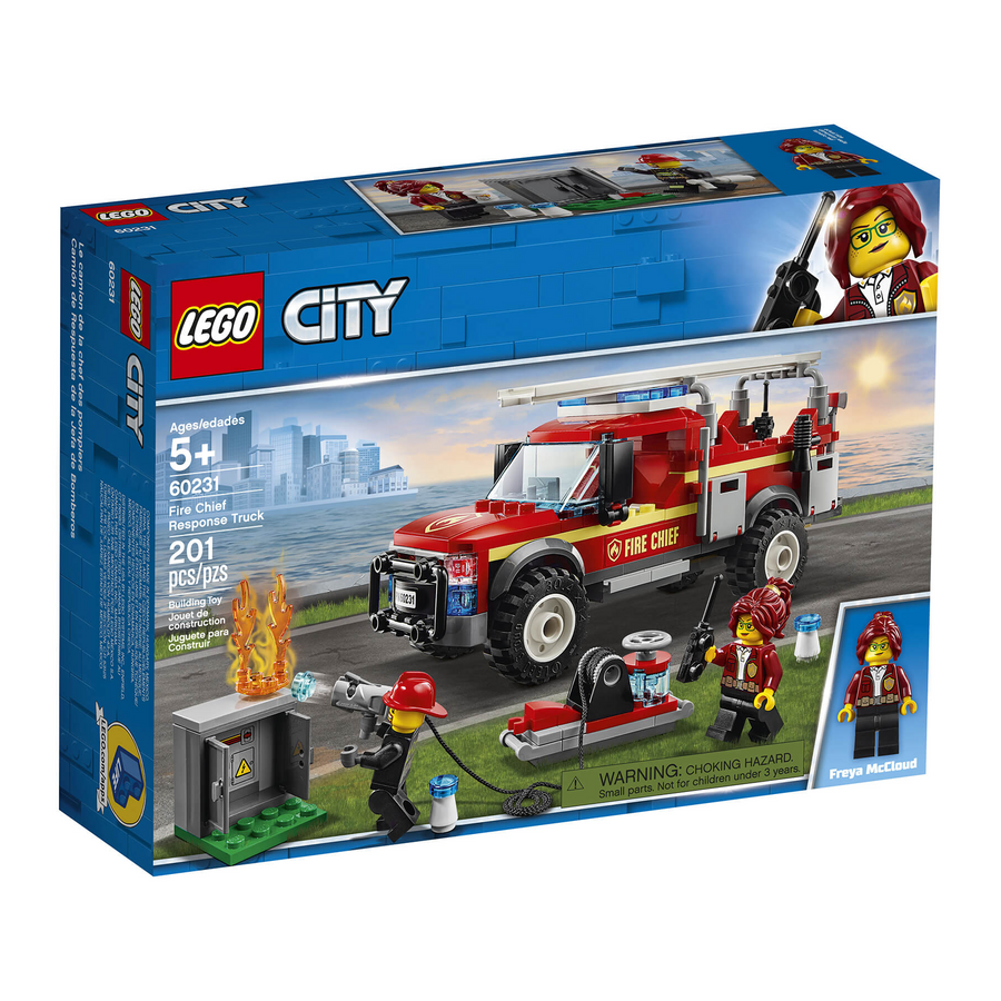 LEGO - 60231 Fire Chief Response Truck