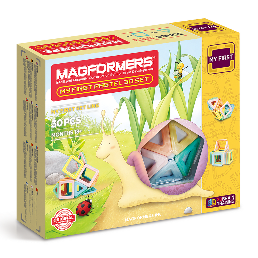Magformers My First Pastel 30 Set
