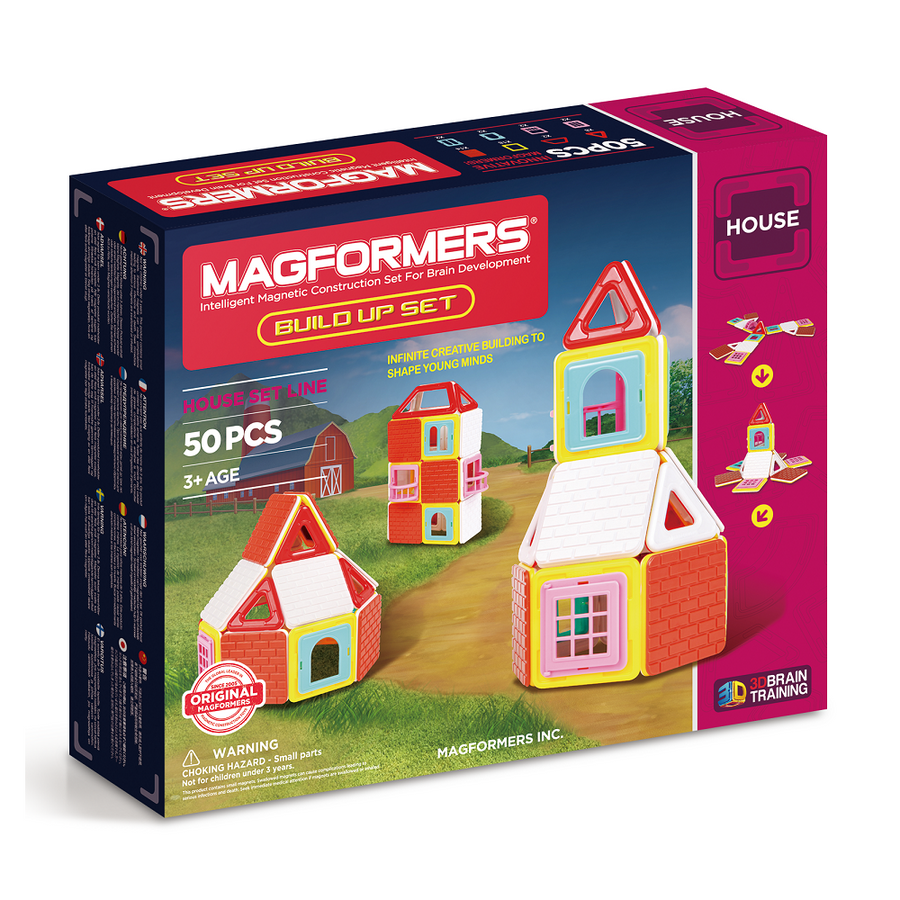 Magformers Build Up Set