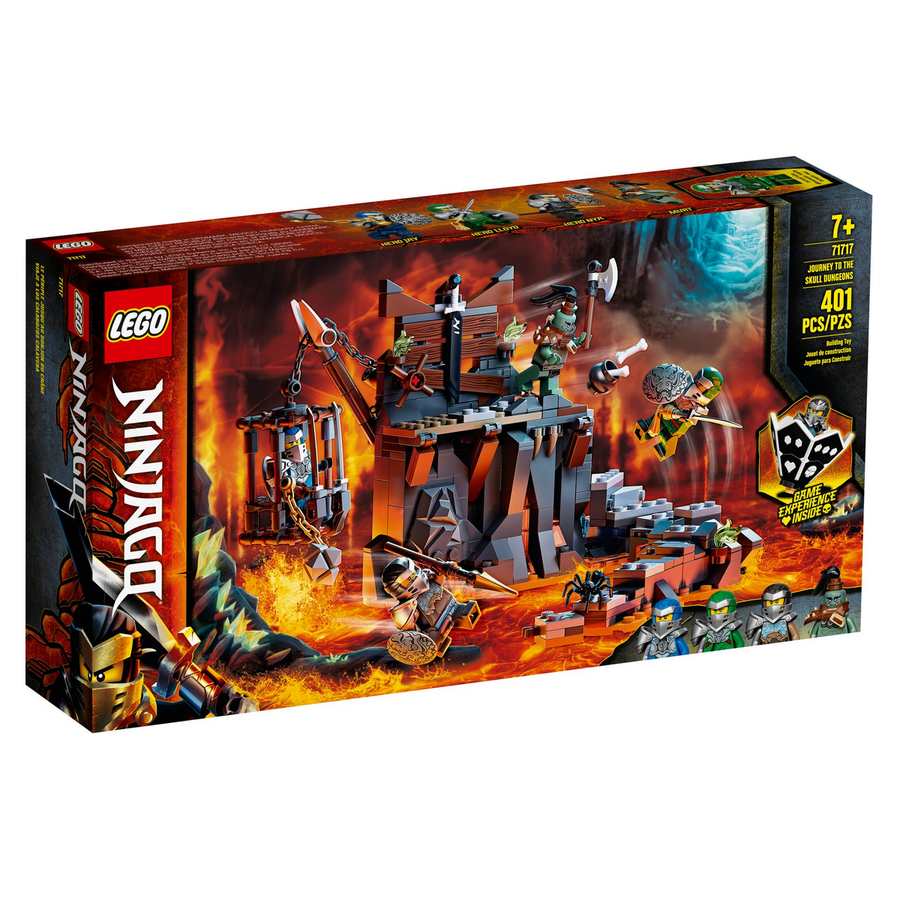 LEGO - 71717 Ninjago Journey to the Skull Dungeons